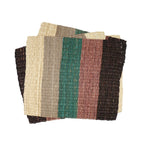 Striped Fique Placemat Set - Earth Tones