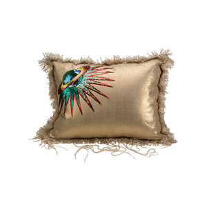 Metallic Planet Pillow