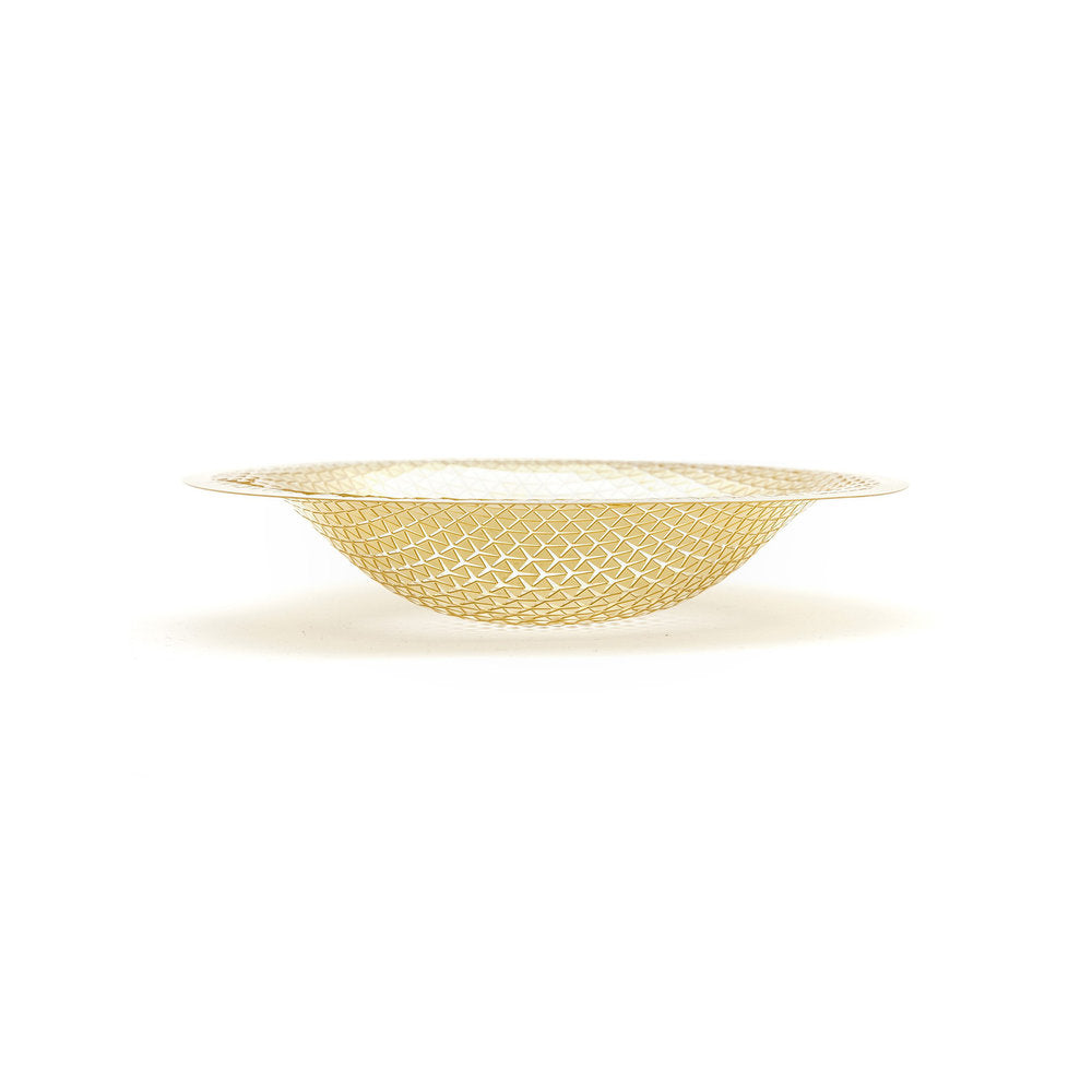 Brass Push Solo Bowl