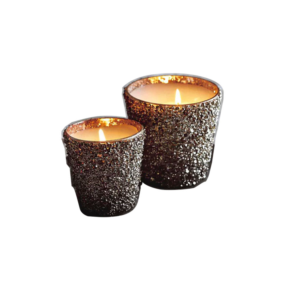 Glittering Filled Candle