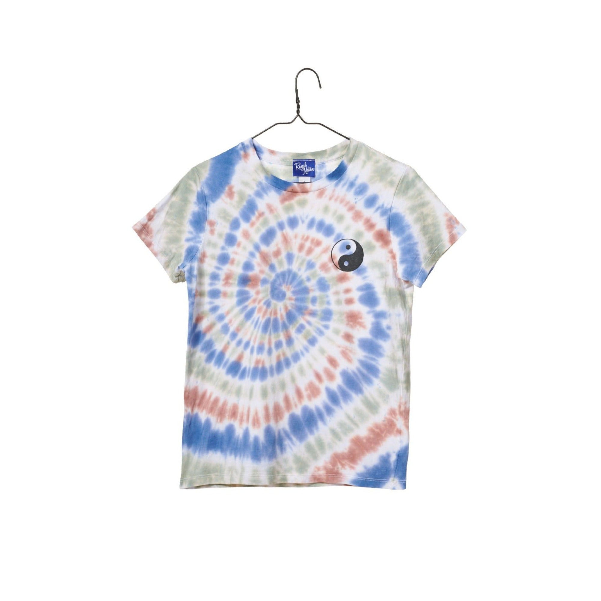 Yin Yang Tie-Dye T-Shirt - Earth