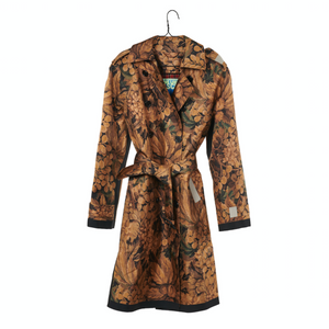 Printed Donna Trench Coat