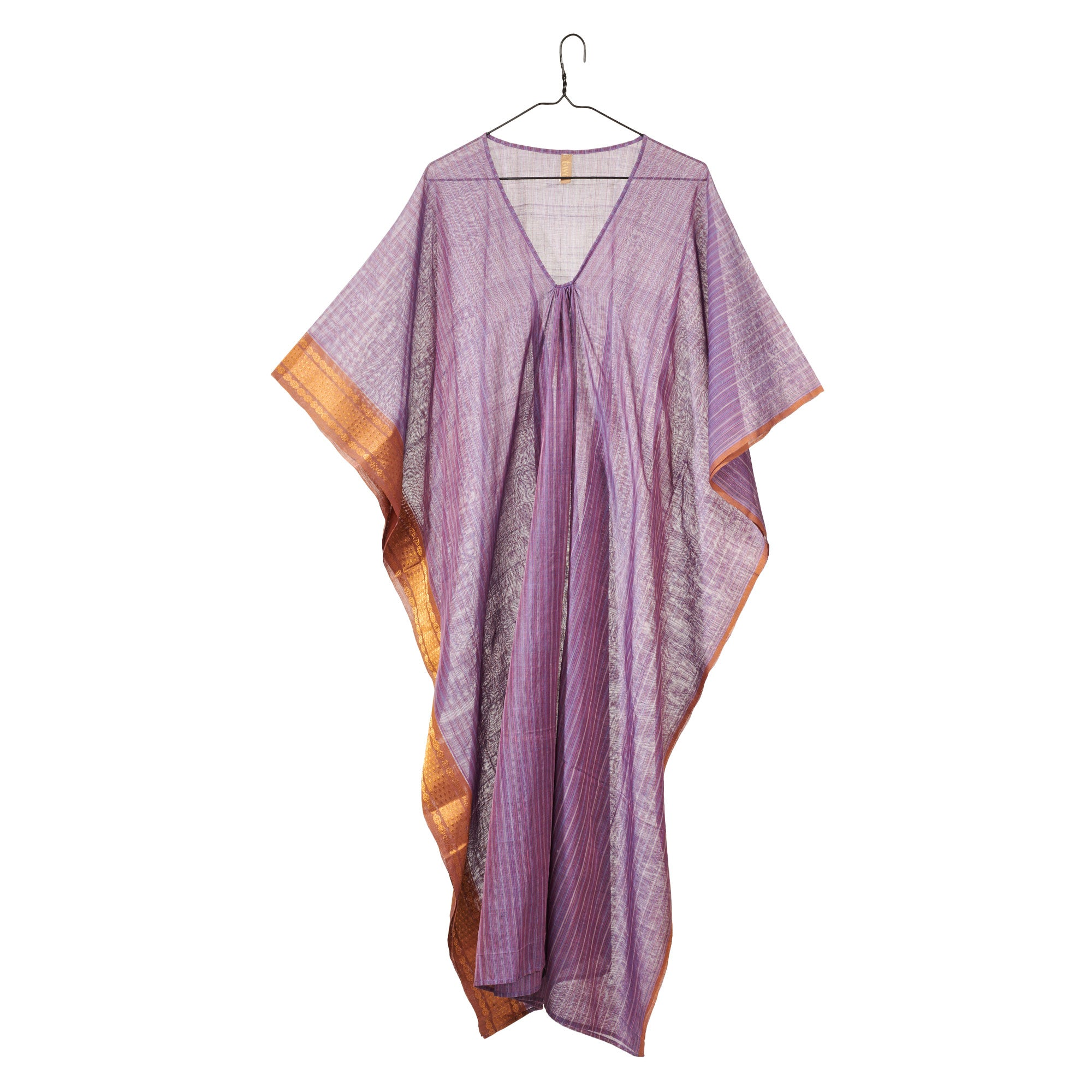 Mauve and Gold Caftan