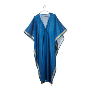 Teal Caftan with Sheen