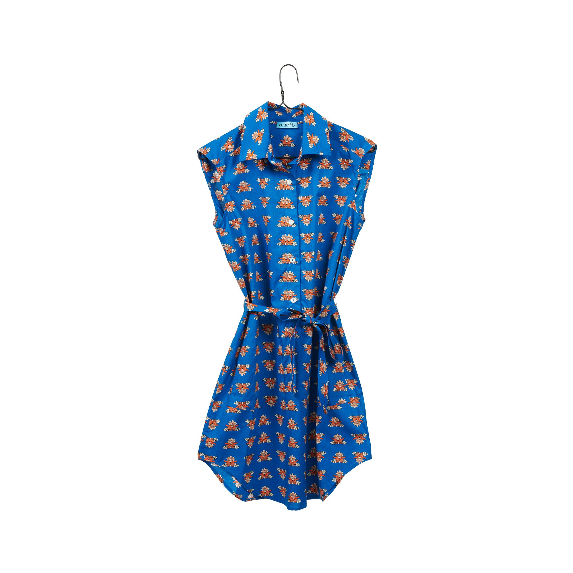 Alicudi Blue Shirtdress