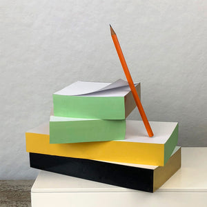 Multi-Colored Edge Memo Pad