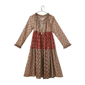 Woven Tiered Dress