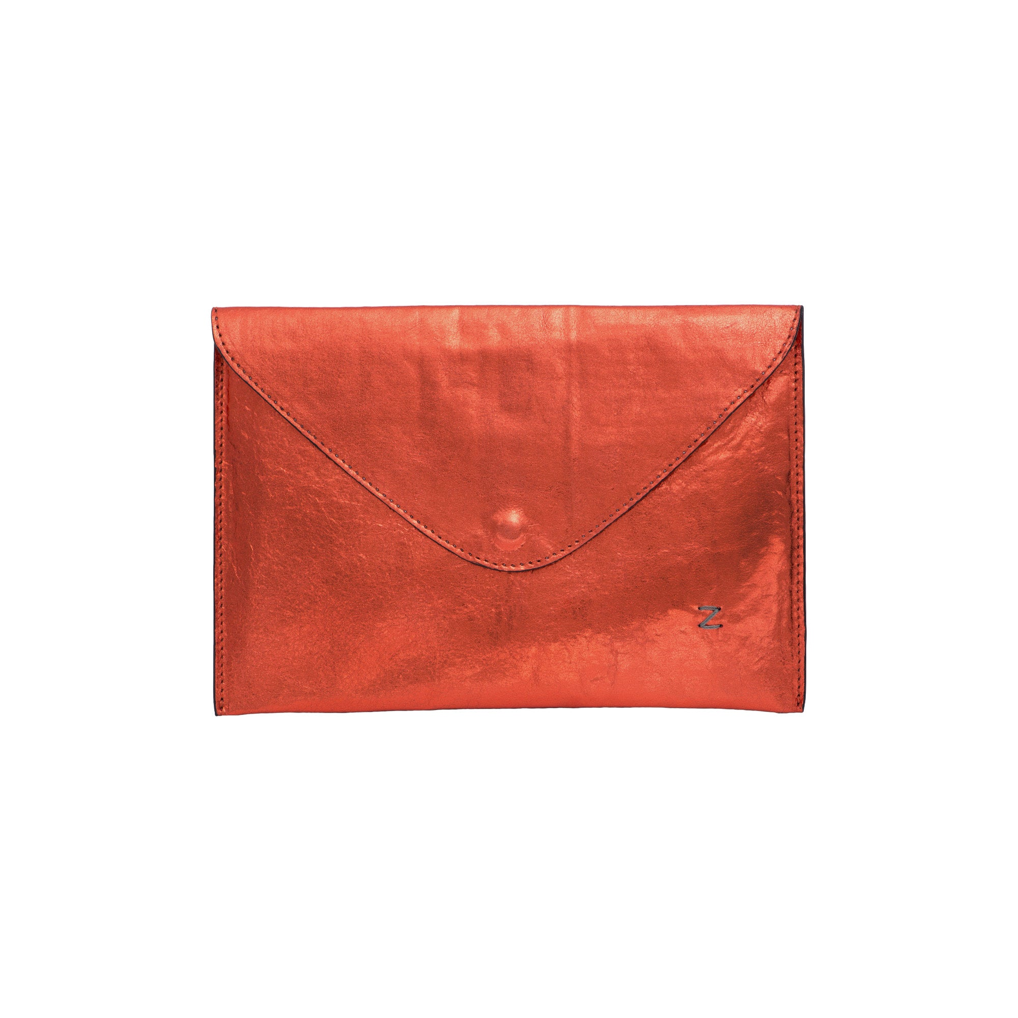 Metallic Envelope Purse