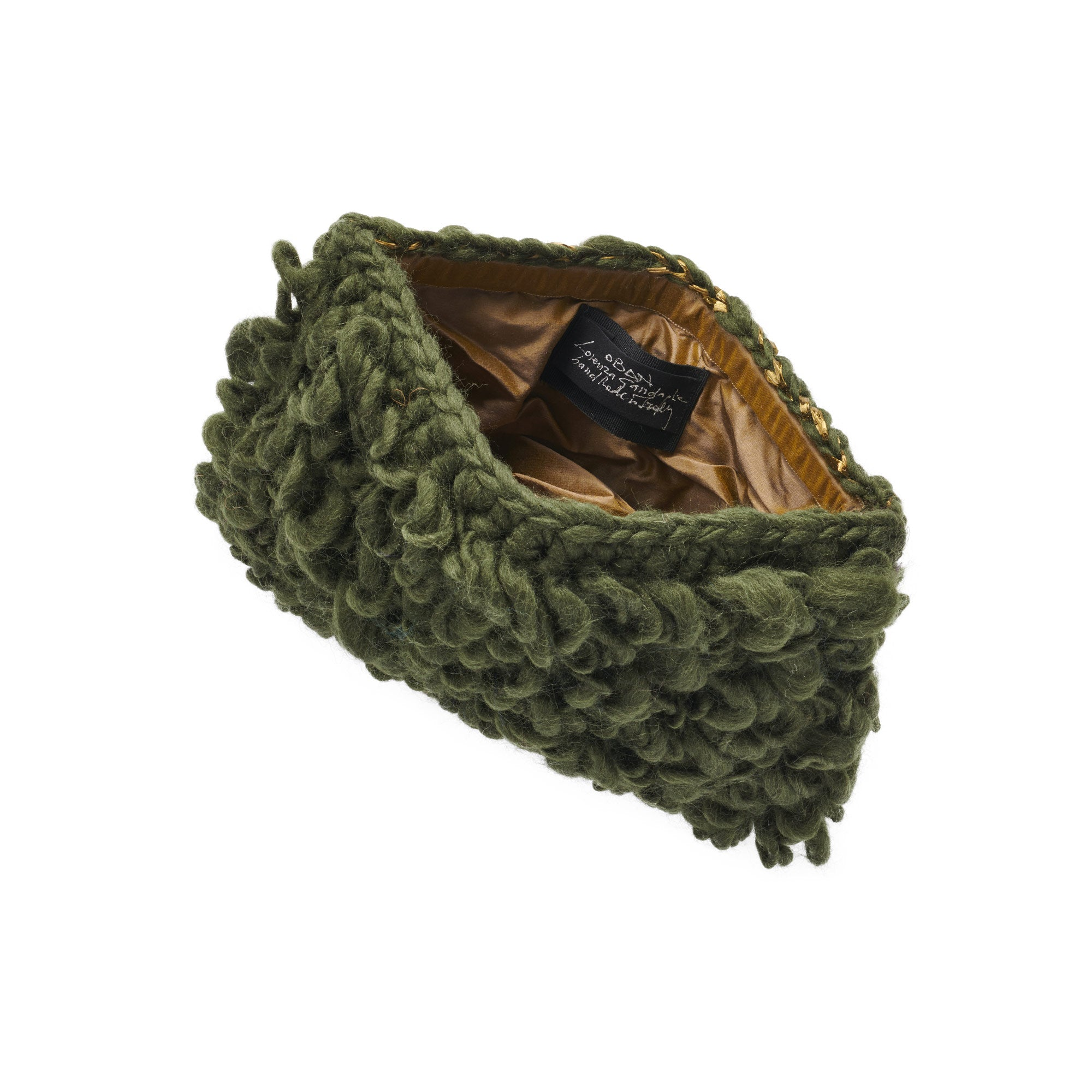 Oban Wool Clutch