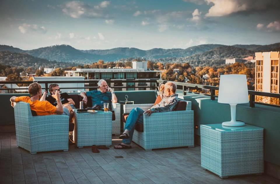 5 Local Asheville Rooftop Bars to Visit During Leaf Season