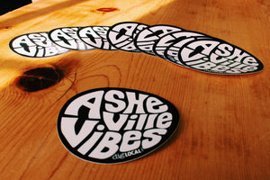 Asheville Vibes Sticker