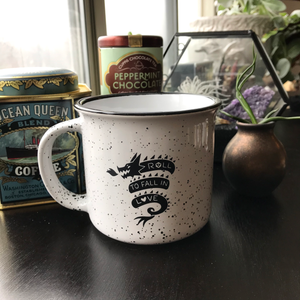 """Roll to Fall in Love"" Mug - CURRENTLY SOLD OUT"