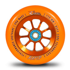 River Rapid Wheels Orange 110mm