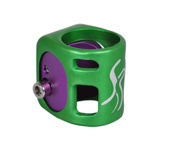 Fasen Wedge 2 Bolt Clamp Green Purple