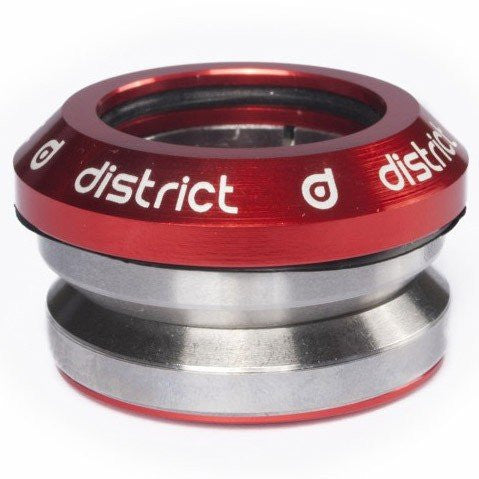 District Integrated Headset Red