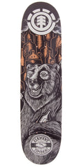 Element Timber Bear Skate Deck 8.12