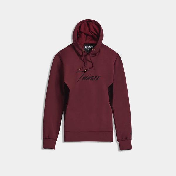 ALBERT HOOD - BURGUNDY/BLACK
