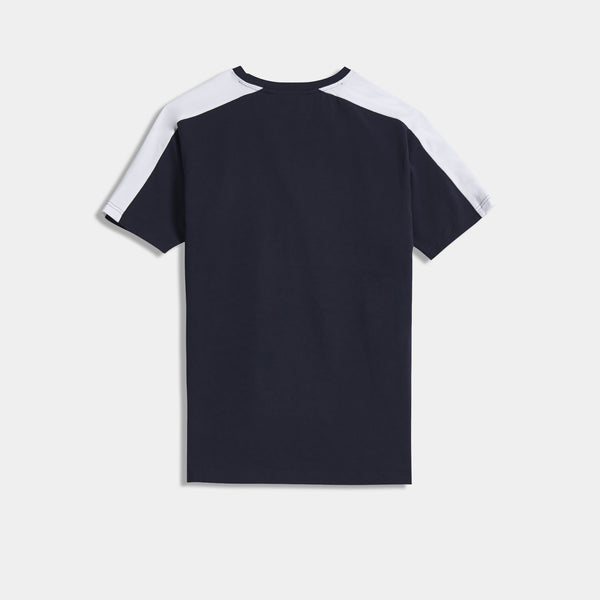 NELSON TEE - NAVY/RED/WHITE