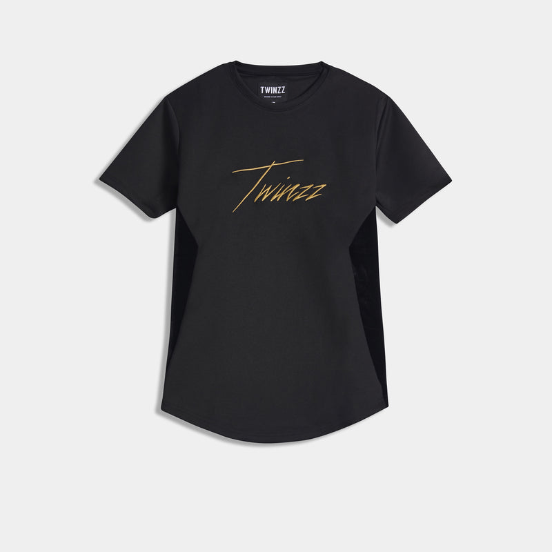 ALBERT TEE - BLACK/GOLD