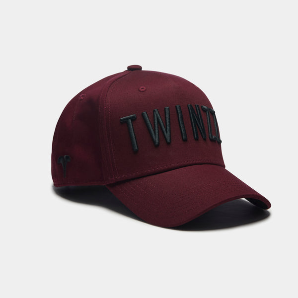 3D TWINZZ TRUCKER - BURGUNDY/BLACK