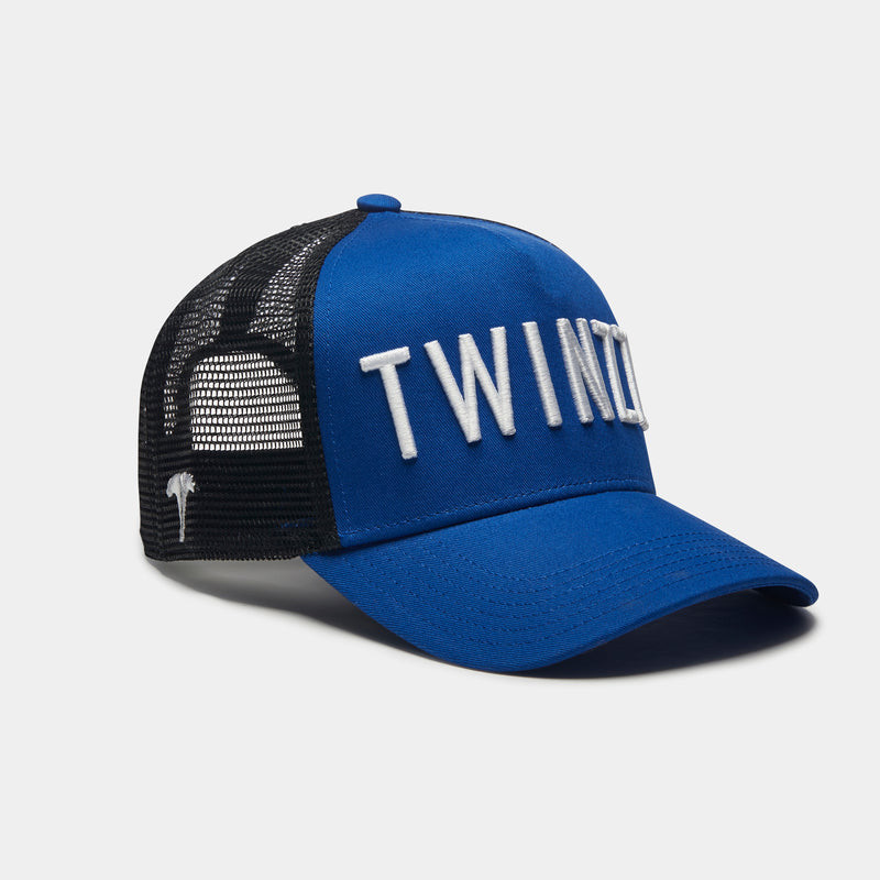 3D MESH TRUCKER TWO TONE - ROYAL BLUE