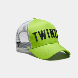 3D Mesh Trucker - Lime / Black / White