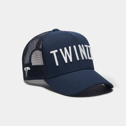 3D MESH TRUCKER - NAVY/WHITE