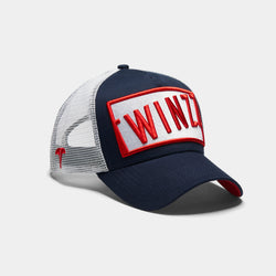 Azzuro Trucker - Navy/Red/White