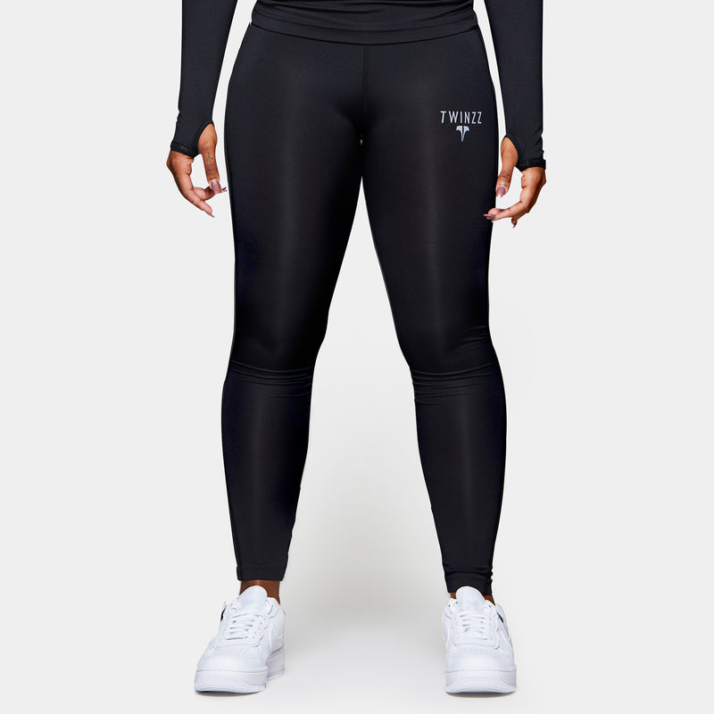 TWINZZ WOMEN'S PRO ACTIVE LEGGINGS - Black