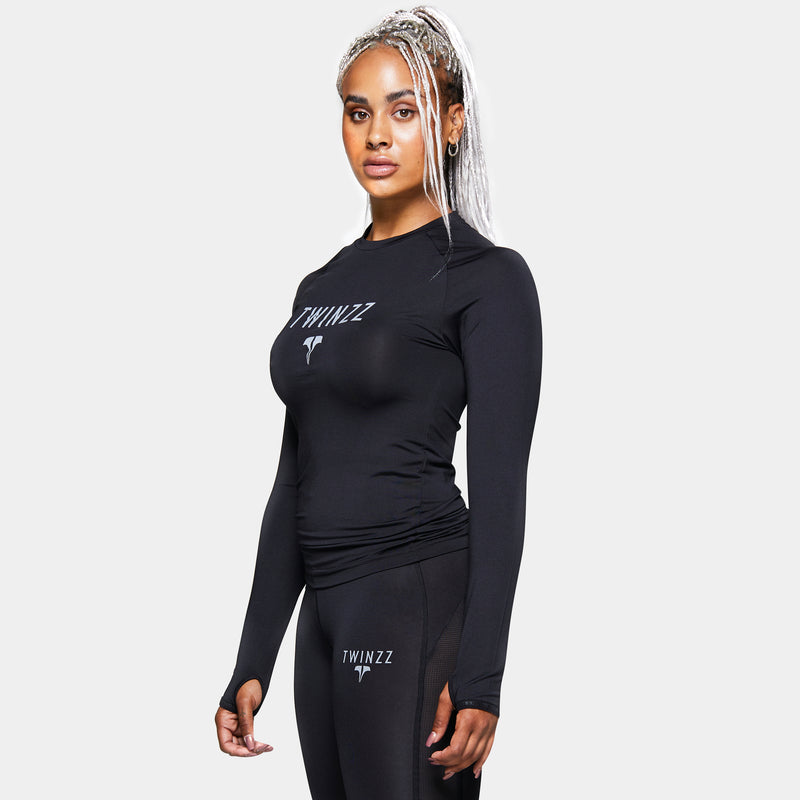 TWINZZ WOMEN'S PRO TRAINING LONG SLEEVE TEE
