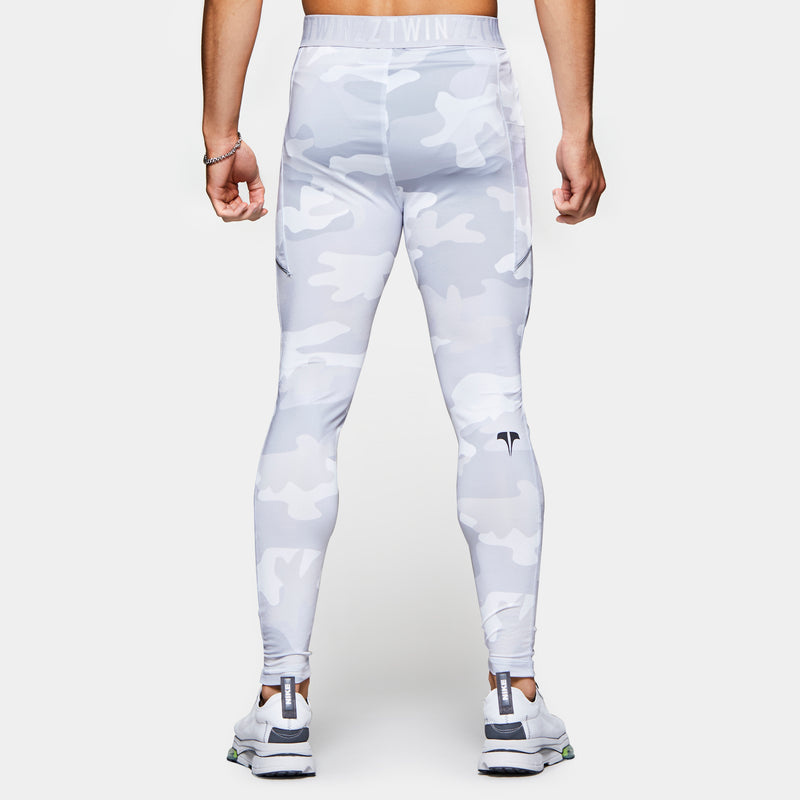 TWINZZ PRO MEN'S SKIN TIGHT - Grey/White Camo