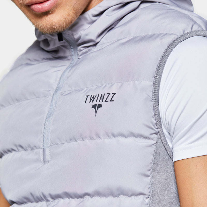 TWINZZ ACTIVE 1.0 1/2 ZIP TRAINING GILET