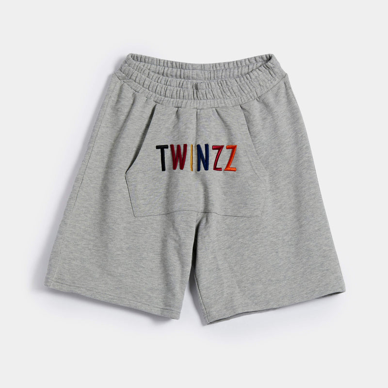 Warm-up Shorts - Grey/Multi