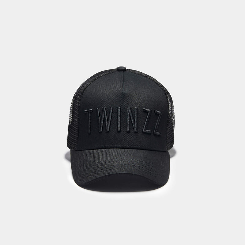 KIDS GHOST TRUCKER - BLACK/BLACK
