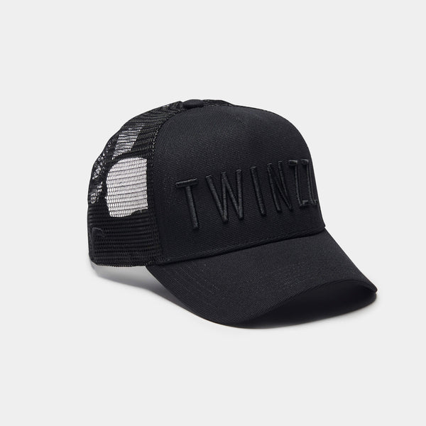 3D MESH TRUCKER - BLACK COLLECTION