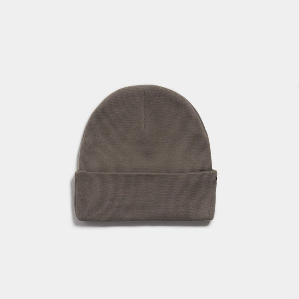 UBER EMBRO KNITTED BEANIE - CHARCOAL/BLACK