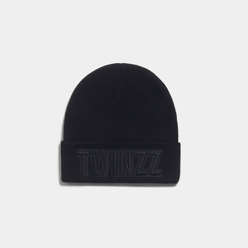 UBER EMBRO KNITTED HAT BLK