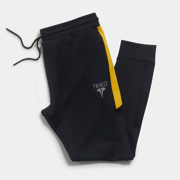 NOSTRA PANT - BLACK/YELLOW