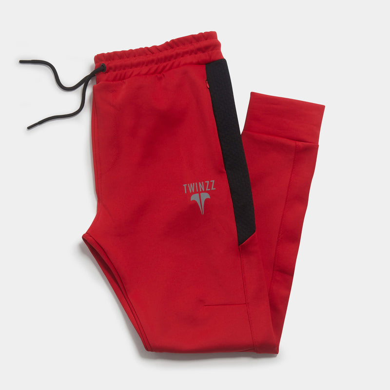 NOSTRA PANT - RED/BLACK