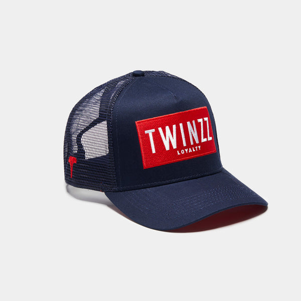 Sencillo Trucker - Navy/Red/White
