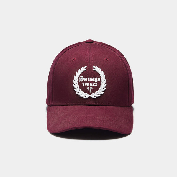 LAUREL PITCHER CAP - BURGUNDY