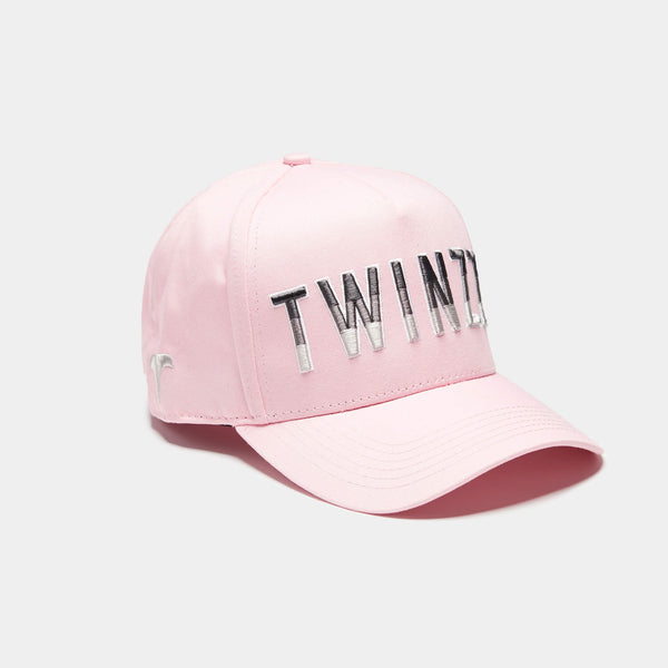 Gradient Trucker Baby Pink/Lt Grey