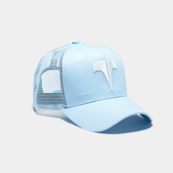 Rockland T Trucker - Baby Blue / White