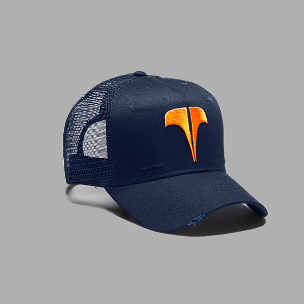 Rockland T Trucker - Blue / Orange