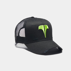 Rockland T Trucker - Black / Neon Green