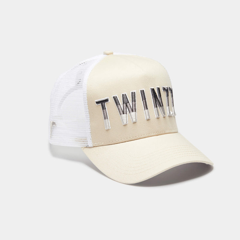 Gradient Trucker Stone/White/Lt Grey