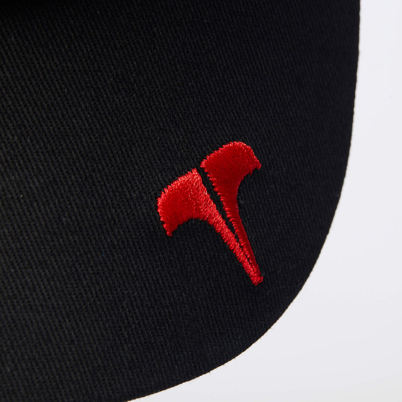 CORE TRI-COLOUR TRUCKER - Black/Grey/Red