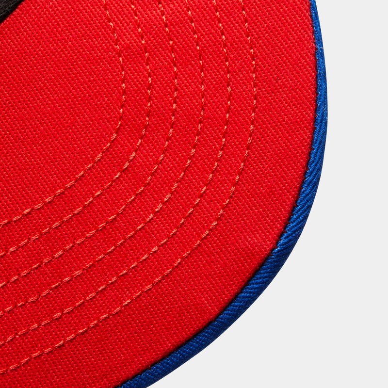 Tri-Colour Trucker - Blue/White/Red