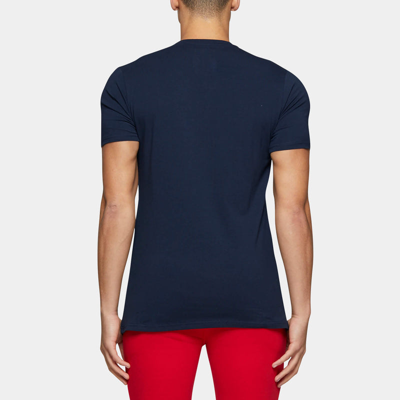 VINCENT SS TEE NVY