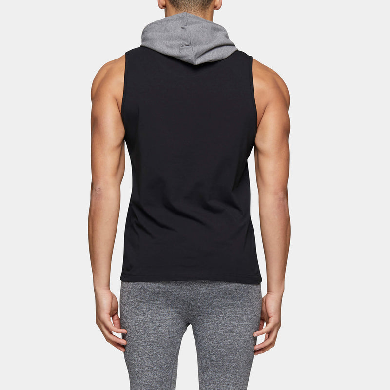 SHUTTLE ACTIVE SLEEVELESS HOOD
